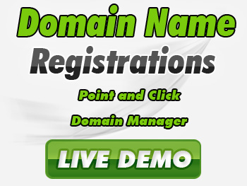 Half-priced domain registration